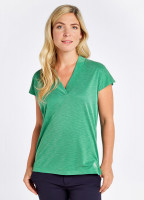 Coolestown cap sleeve top - Kelly Green