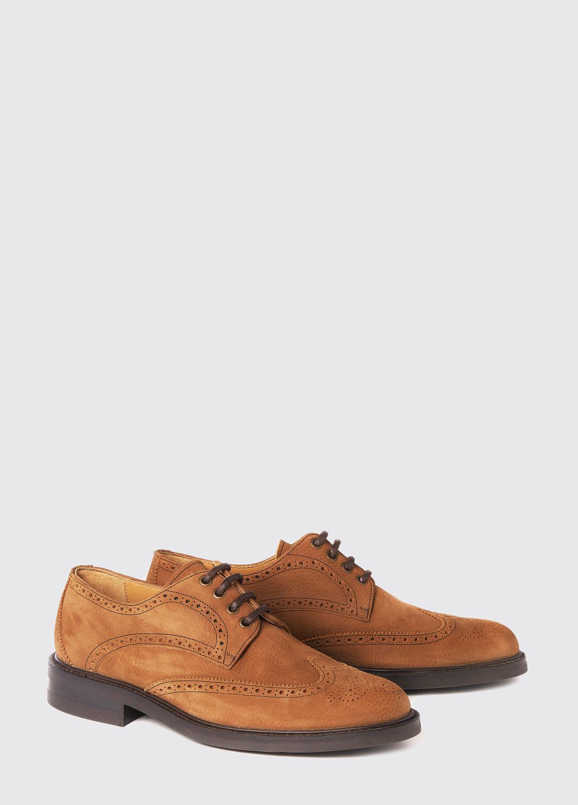 Derry Goodyear Brogue Boot - Brown