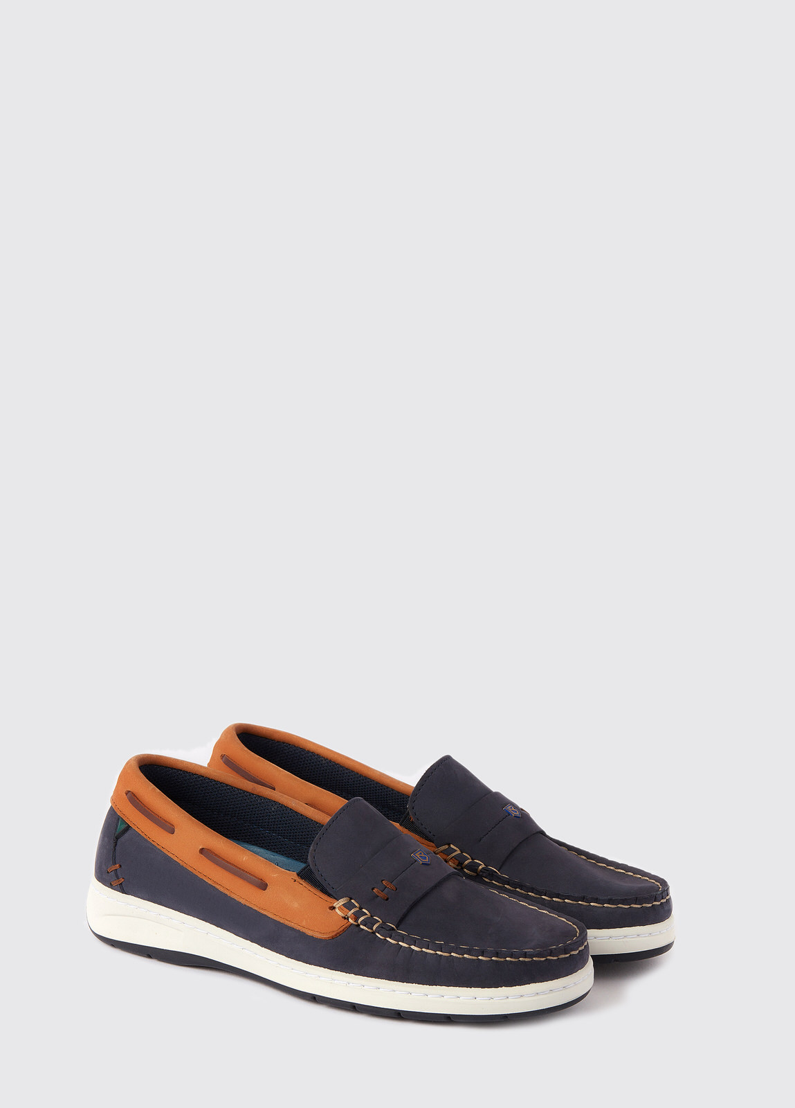 Havana Deck shoes - Denim/Tan