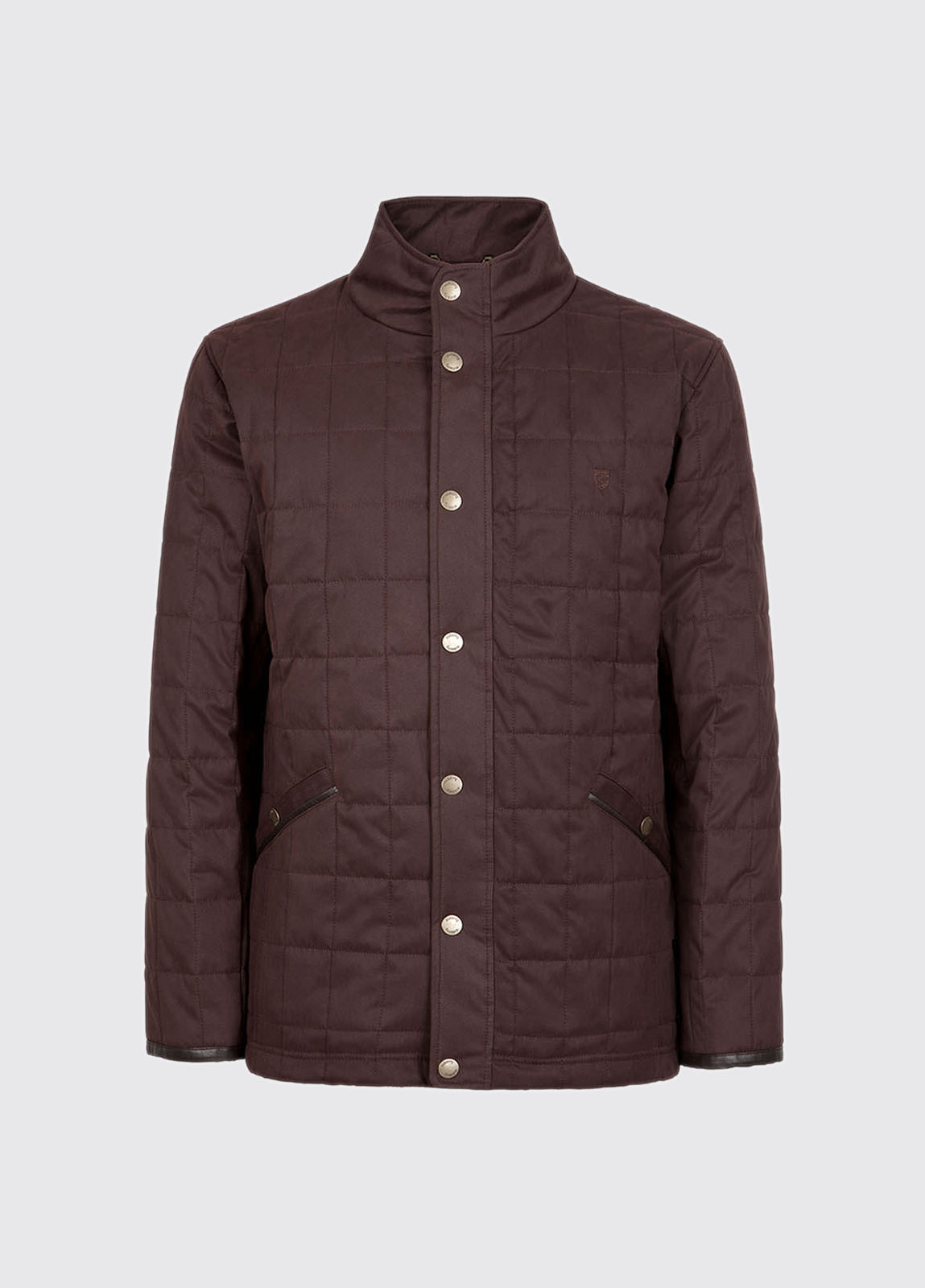 Beckett Quilted Jacket - Chestnut