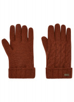 Buckley Knitted Gloves - Russet