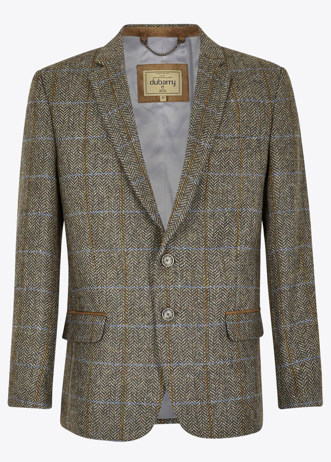 Rockville Tweed Jacket - Woodbine