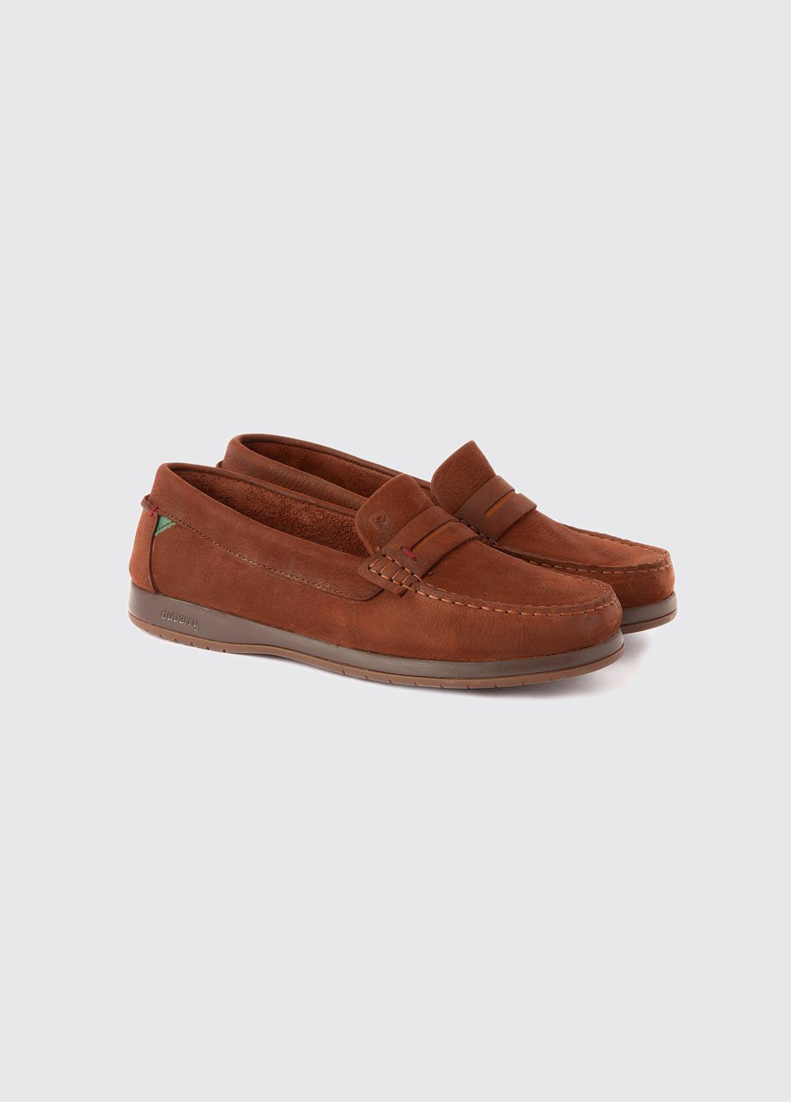 Mizen X LT Deck shoes - Walnut