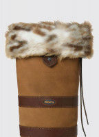 Faux Fur Boot Liners - Lynx