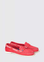Belize Deck Shoe - Coral