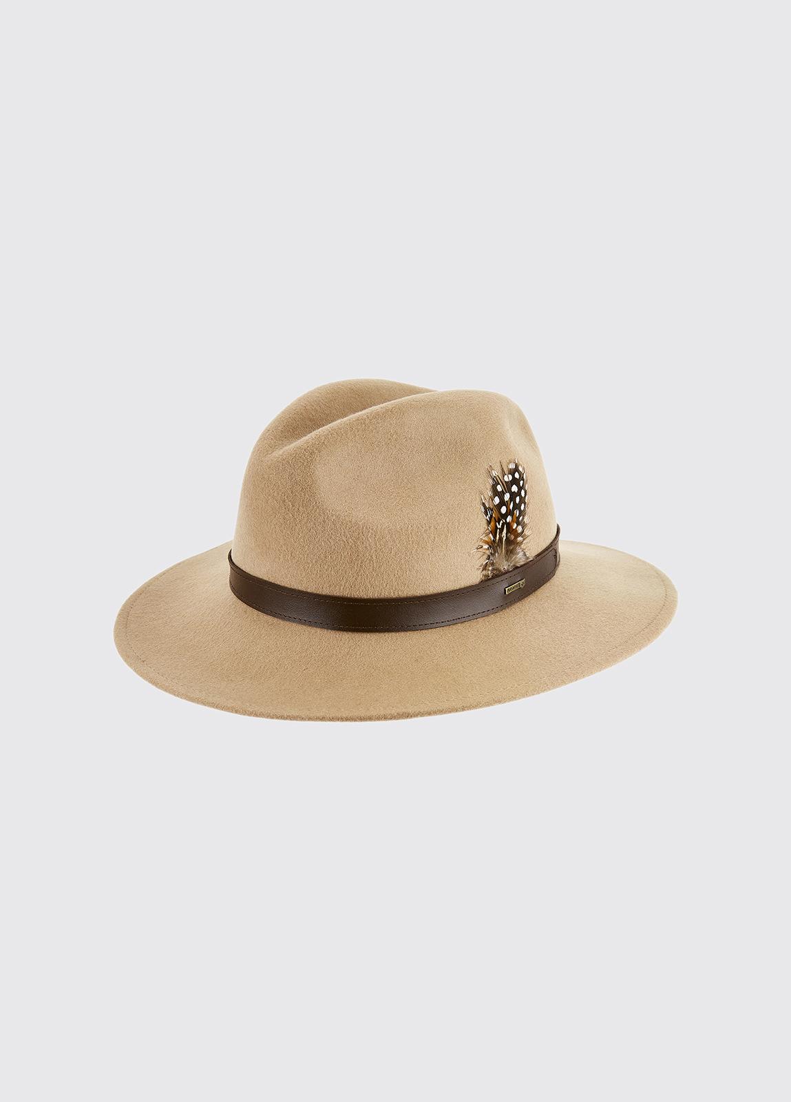 Gallagher Felt Hat - Sand