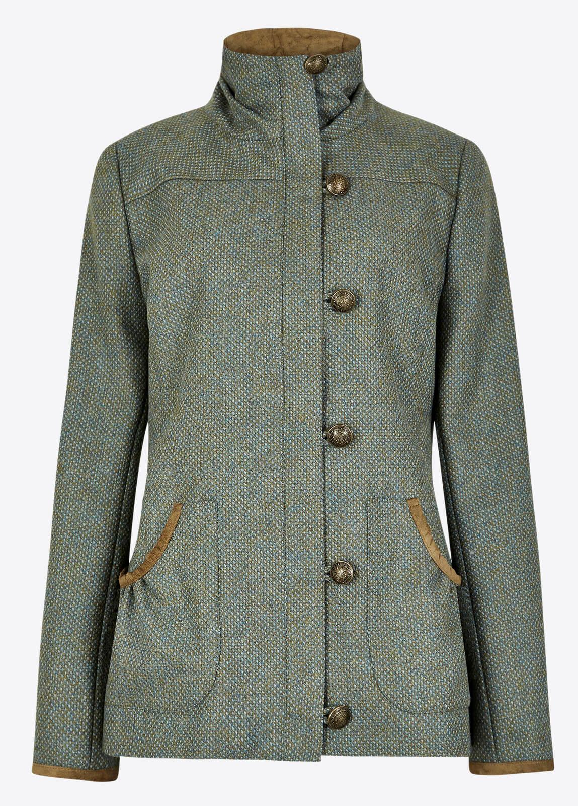 Bracken Tweed Coat - Rowan