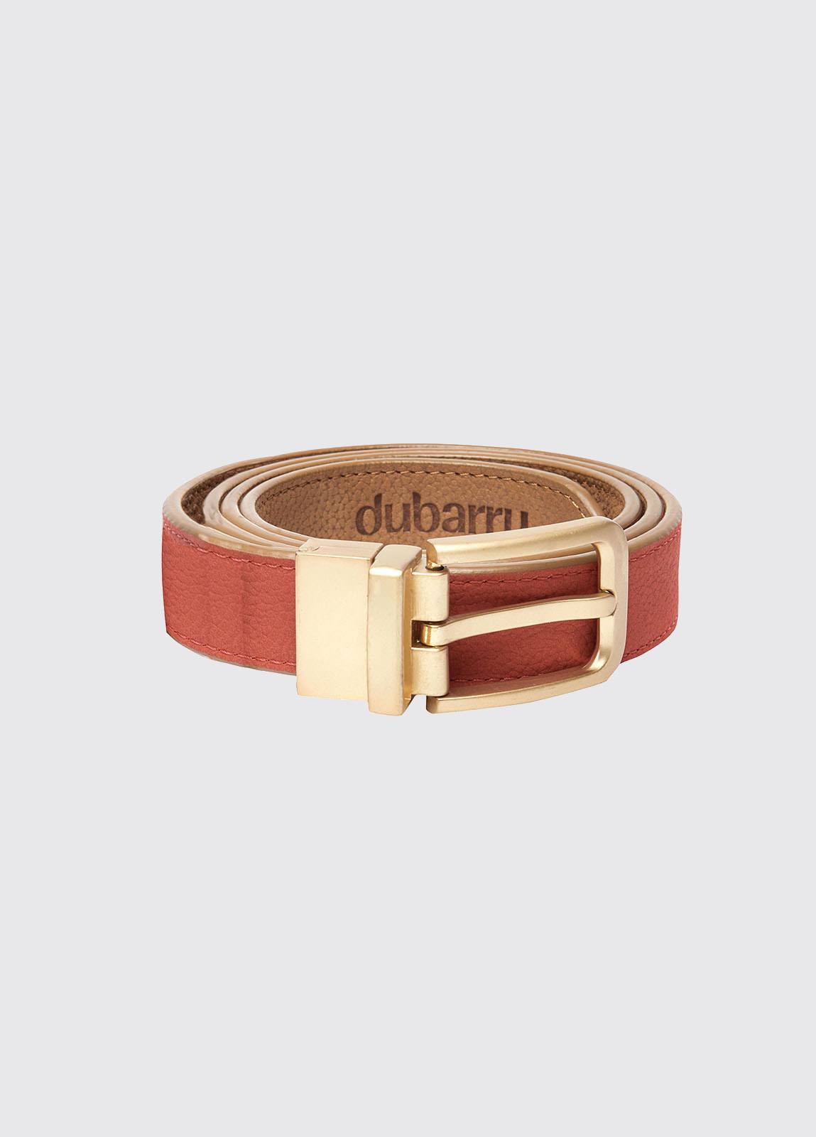 Foynes Leather Belt - Tan