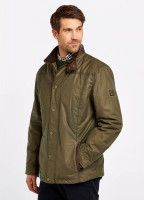 Carrickfergus Waxed Jacket - Dusky Green