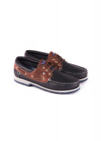 Commander bootschoen - heren - Navy/Brown