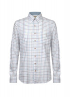 Roundwood Men's Tattersall Check Shirt - Blue Multi