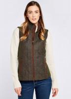 Juniper Tweed Gilet - Hemlock