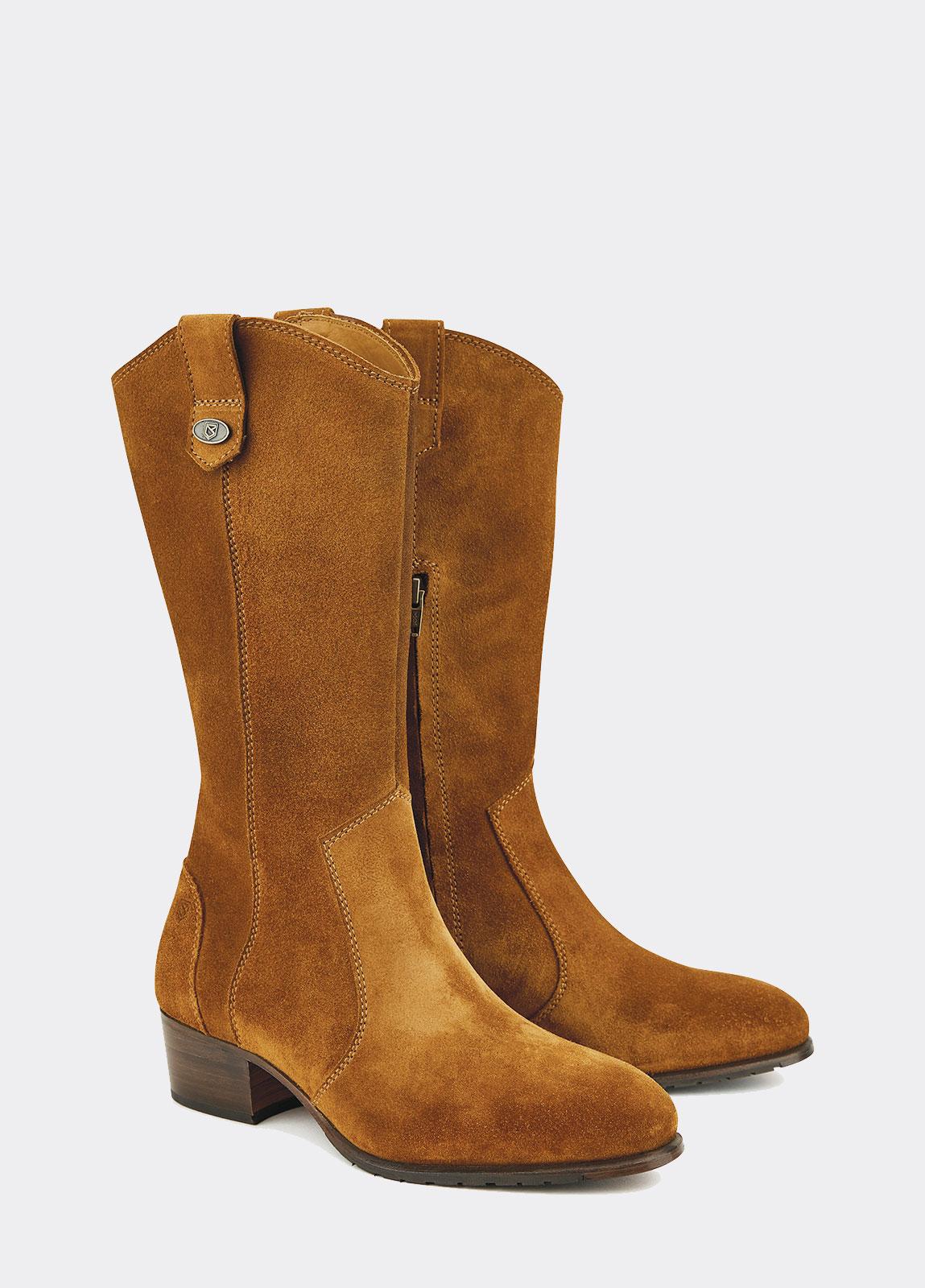 Portobello Leather Soled Boot - Camel