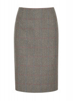Fern Tweed Skirt - Moss