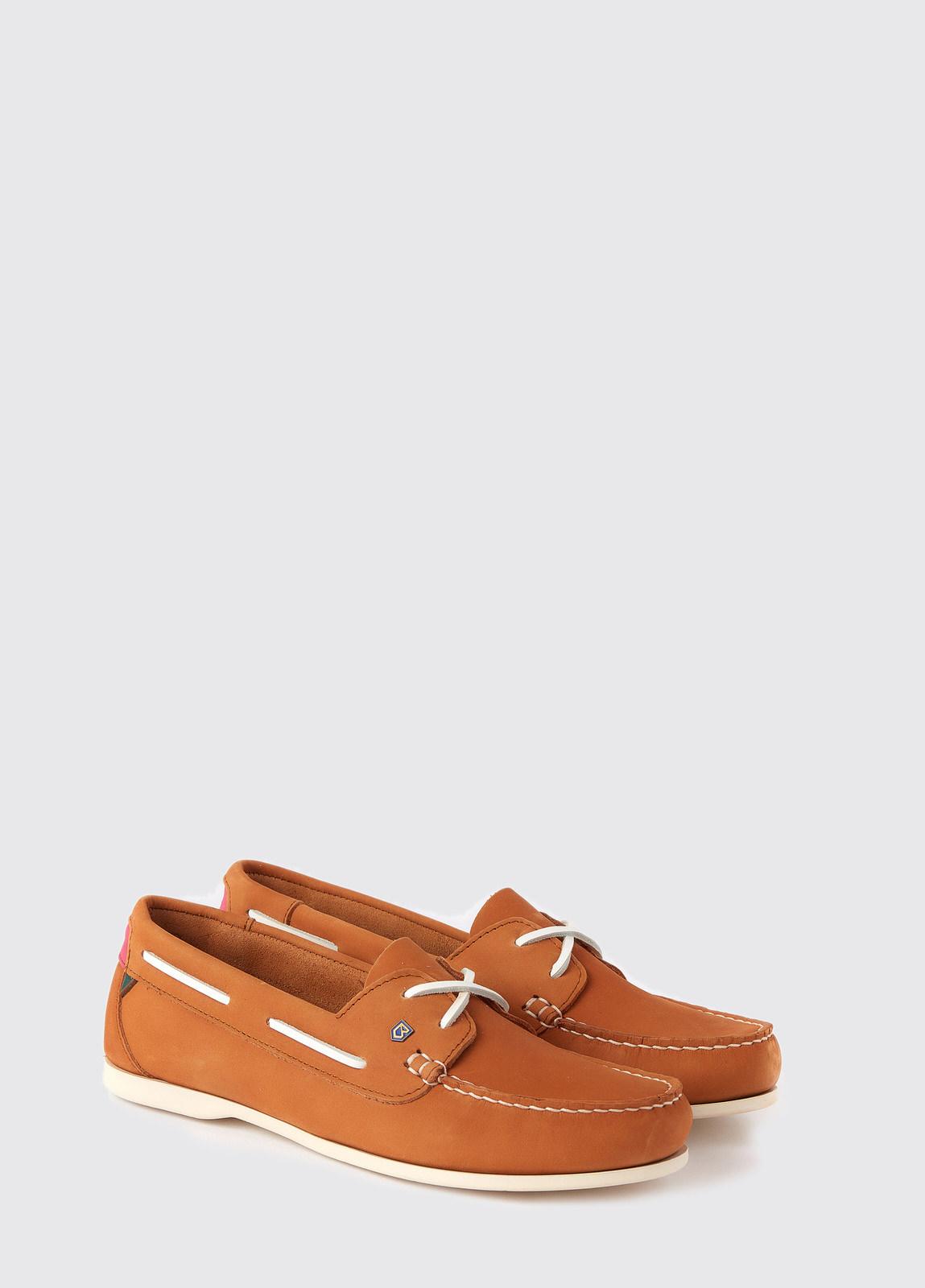 Aruba Deck Shoe - Caramel