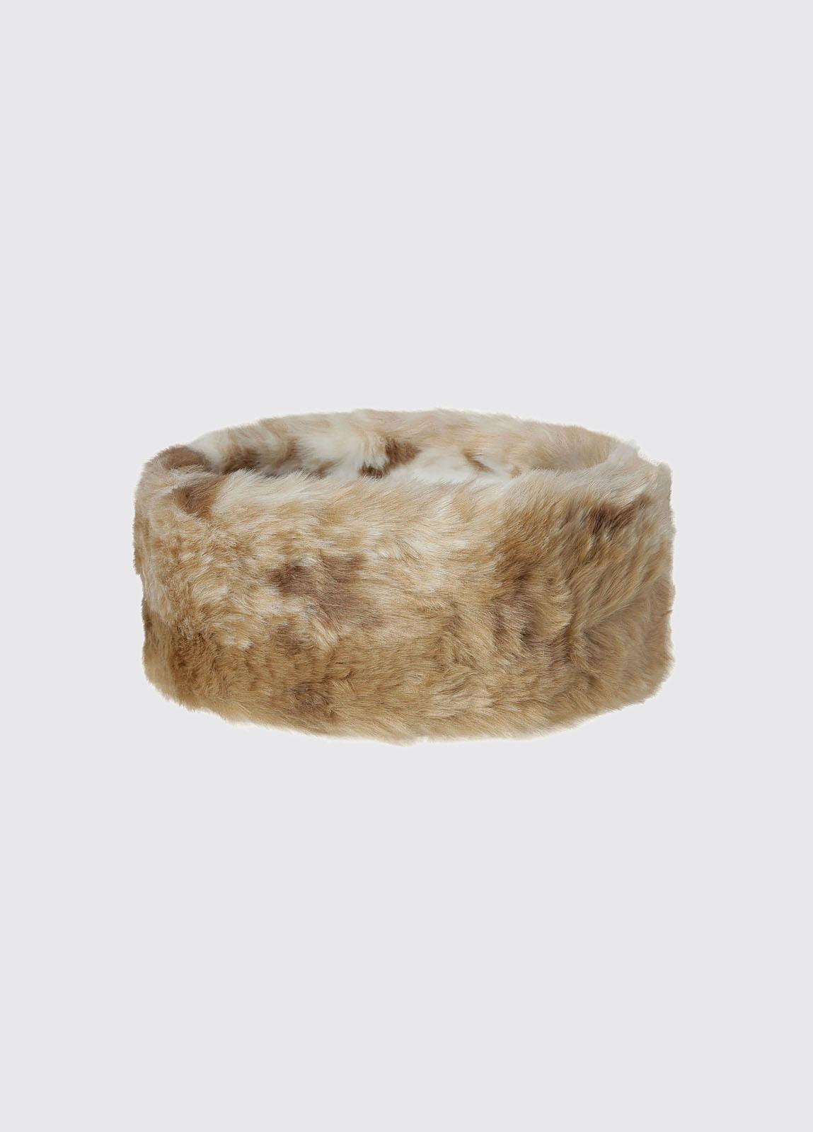 Faux Fur Headband - Chinchilla