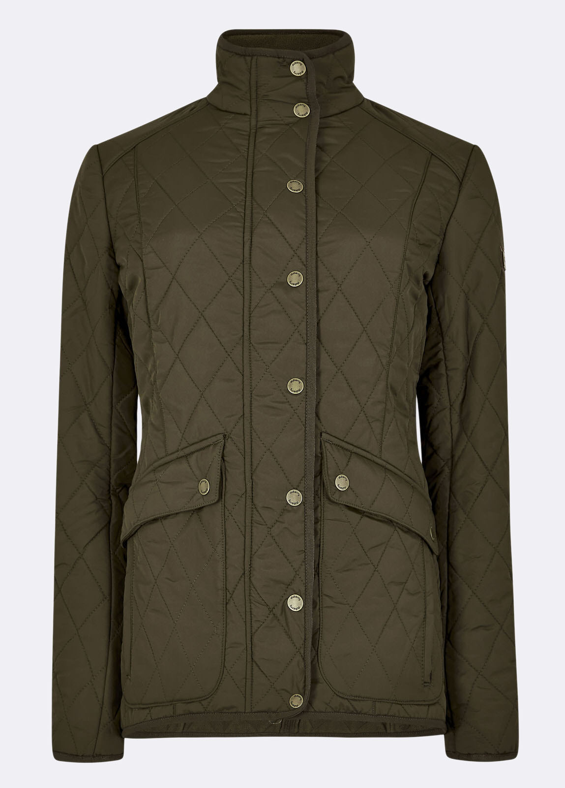 Bettystown Quilted Coat - Olive