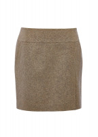 Bellflower Tweed Skirt - Sable