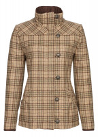 Bracken Tweed Coat - Pebble