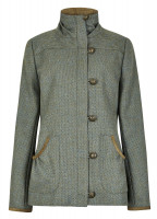 Bracken Tweed Coat - Rowan
