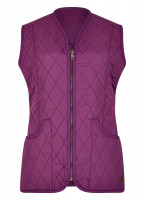 Kilruddery Quiled Gilet - Coffee/Cream