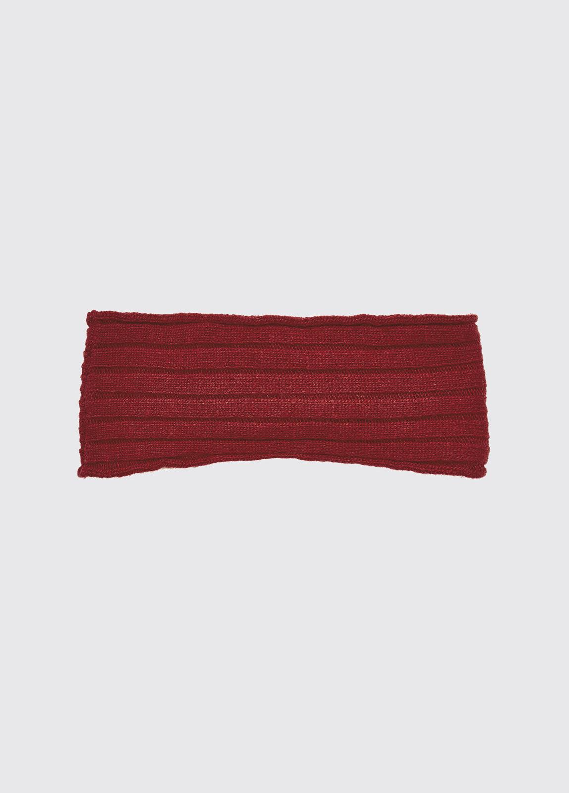 Foley Knitted Headband - Ruby