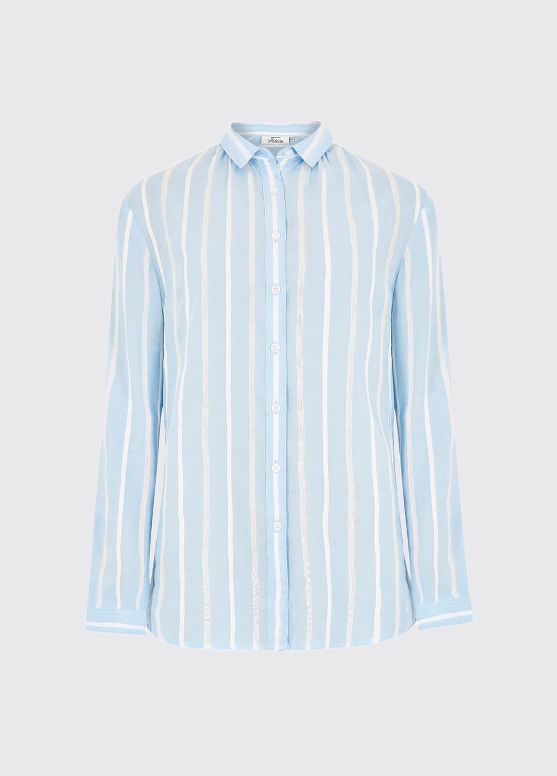 Violet Shirt - Pale Blue