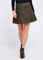 Blossom Tweed Skirt - Hemlock