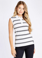Mohill Sleeveless Top - White