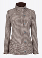 Bracken Tweed Coat - Cafe