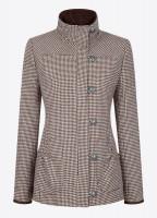 Bracken Tweed Coat - Cafe