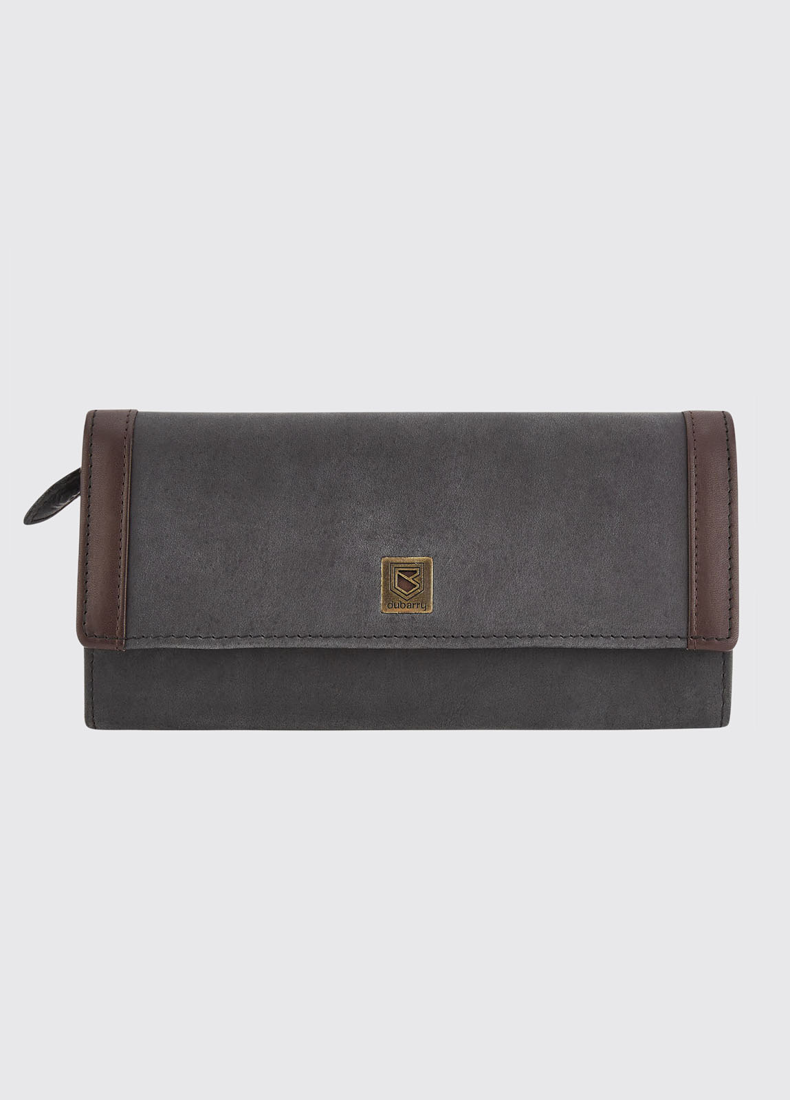 Collinstown Leather Wallet - Black/Brown