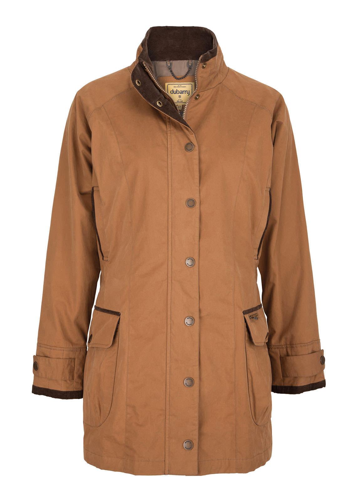 Dubarry_Lavery Ladies Waterproof Jacket - Woodrose_Image_2