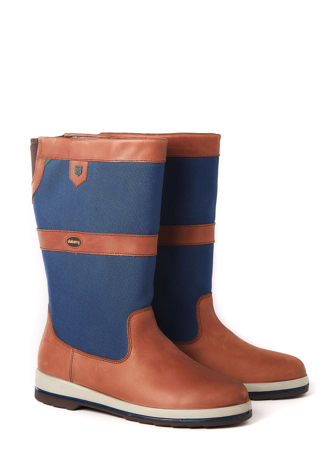Shamrock ExtraFit™ Sailing Boot - Navy/Brown