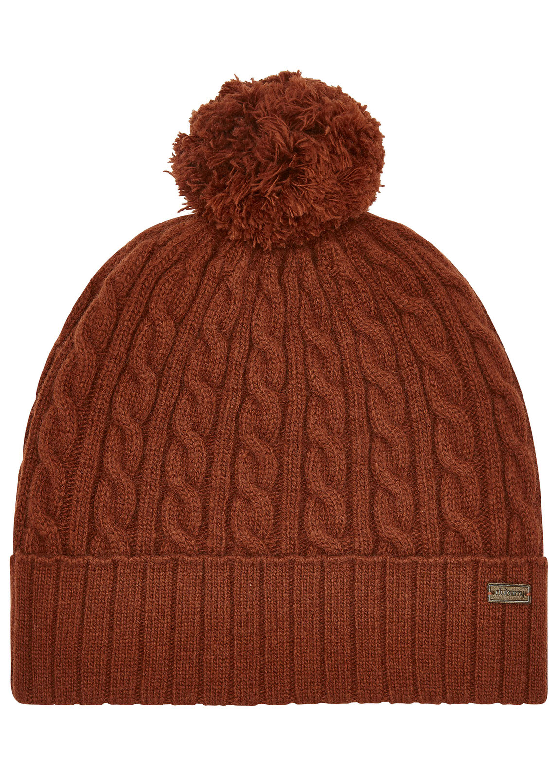 Schull_Knitted_Hat_Russet_Image_1