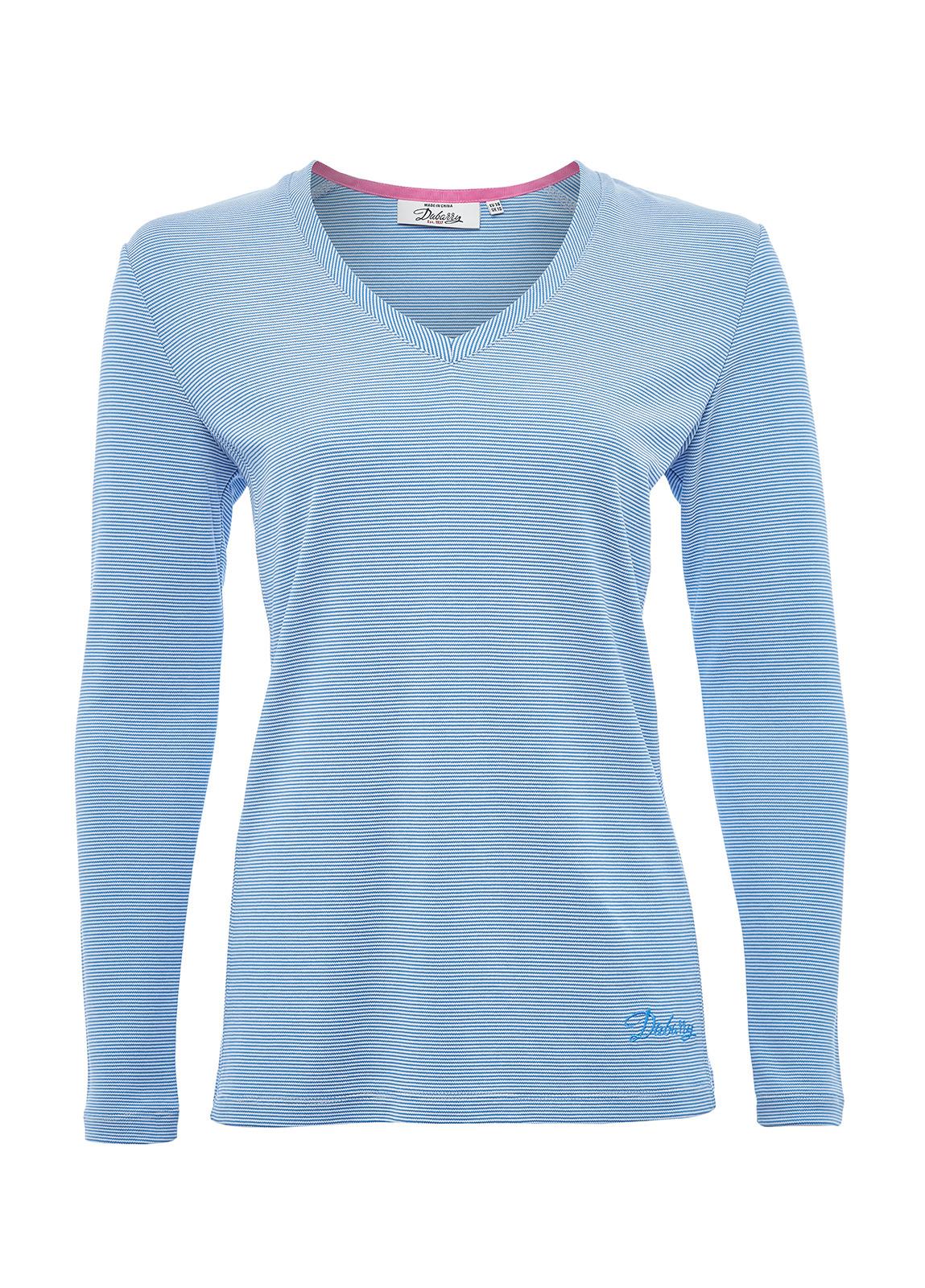 Dubarry_ Portumna Long-sleeved Top - Blue_Image_2