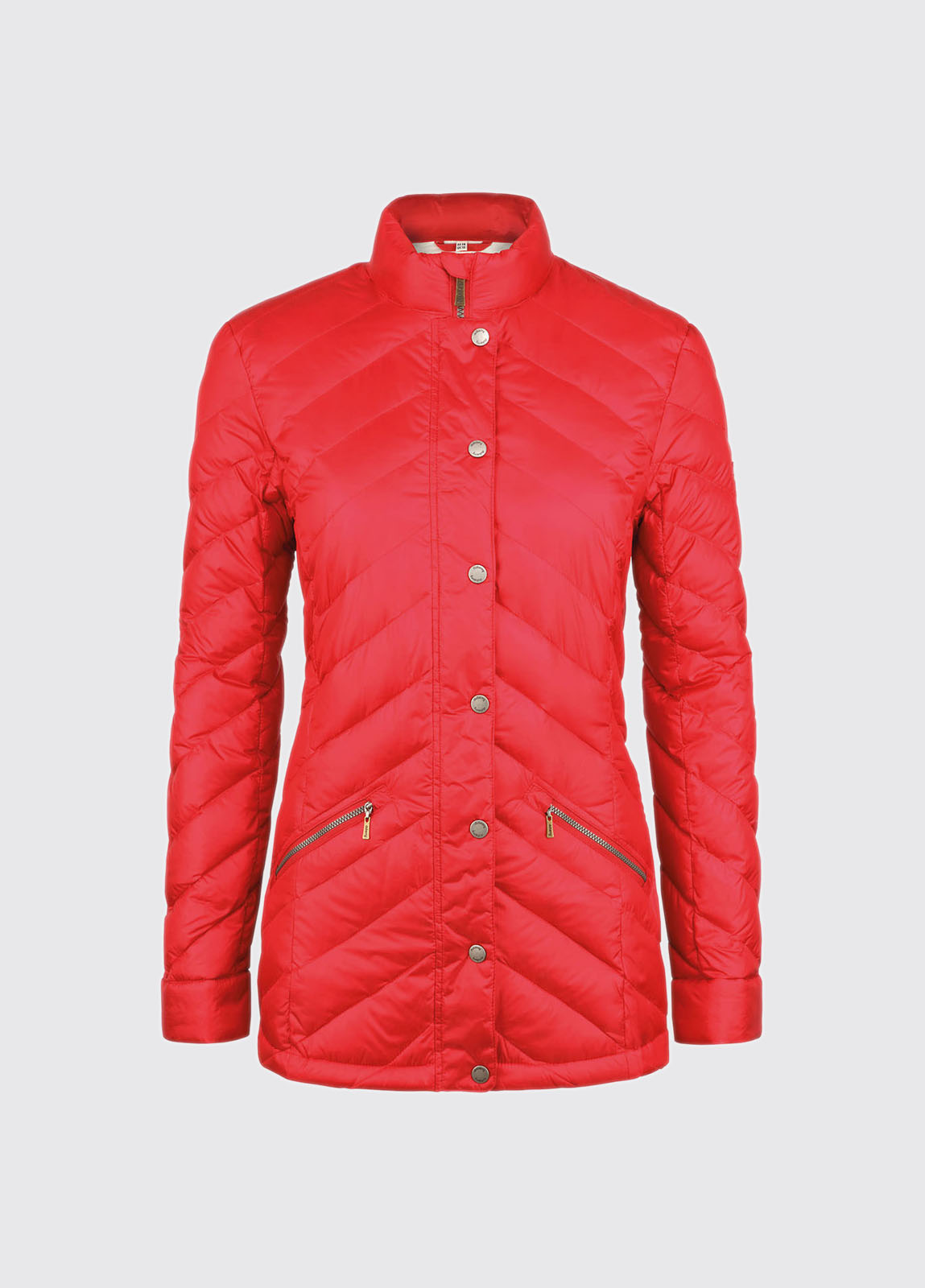 Binchy Women's Down Filled Jacket - Red