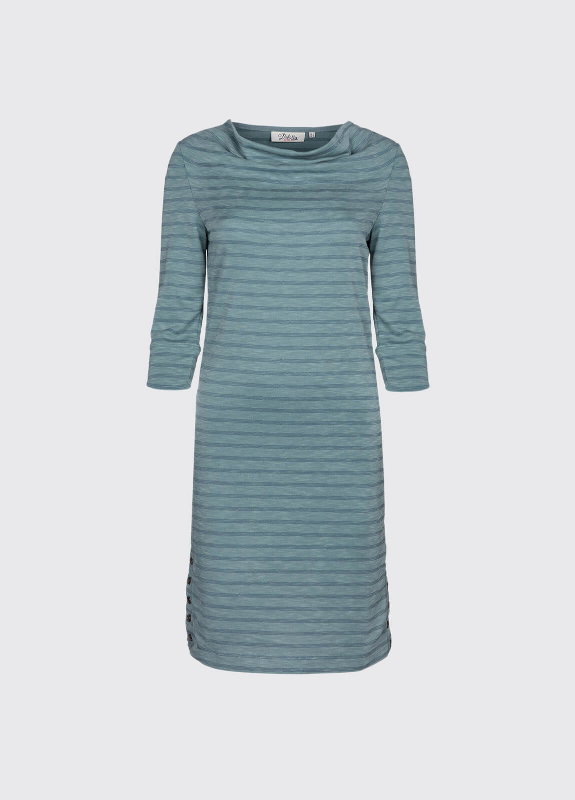 Ennis Cowl Neck Dress - Sage
