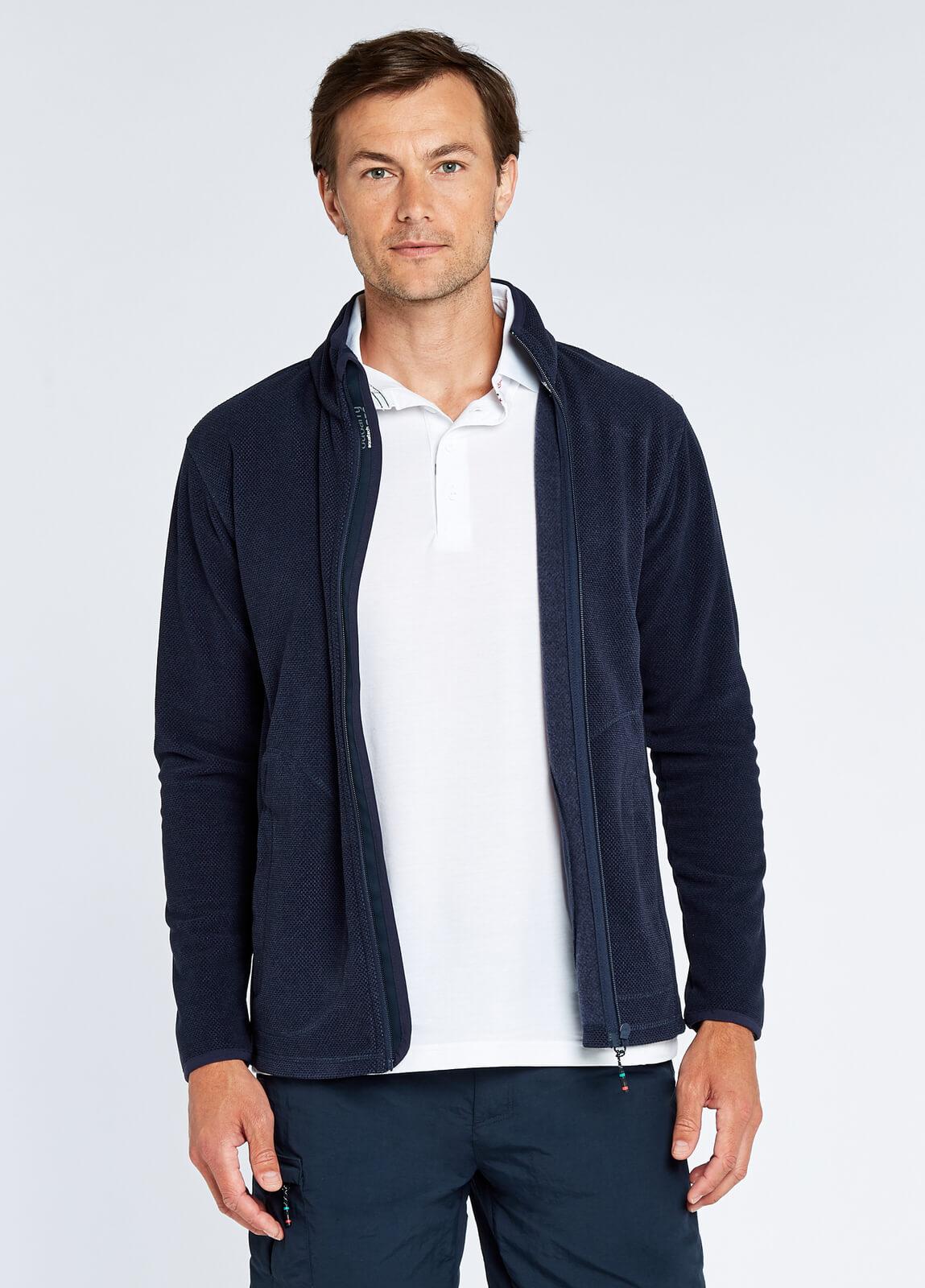 Mustique Men's Full-zip Fleece - Navy