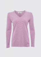 Portumna Long-sleeved Top - Cerise