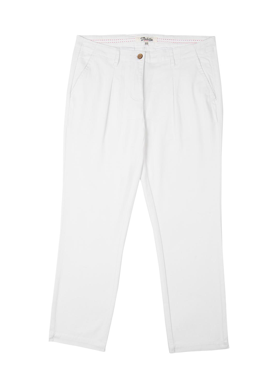 Reed Capri Trousers - White