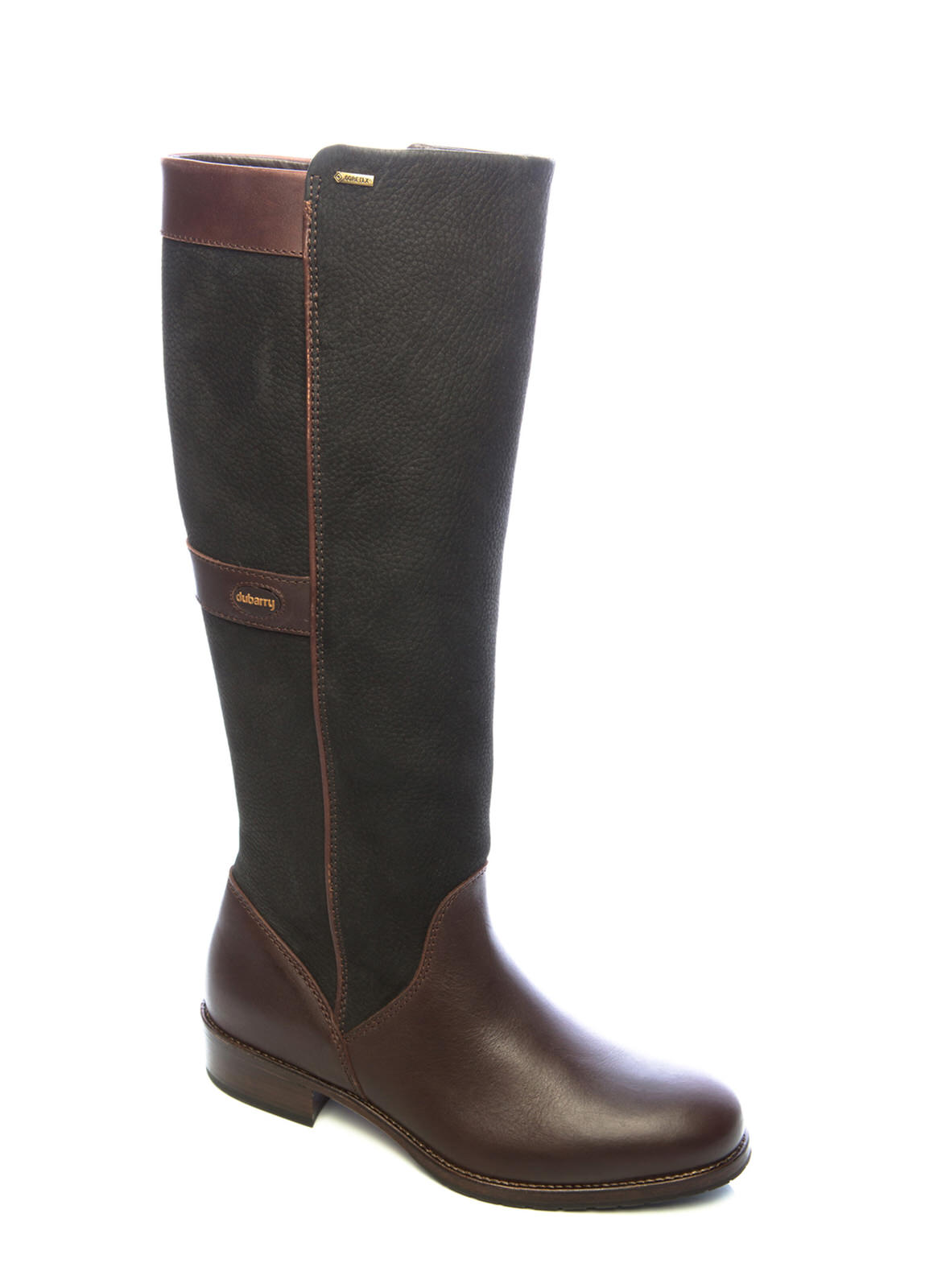 Dubarry_ Fermoy Boot - Black/Brown_Image_1