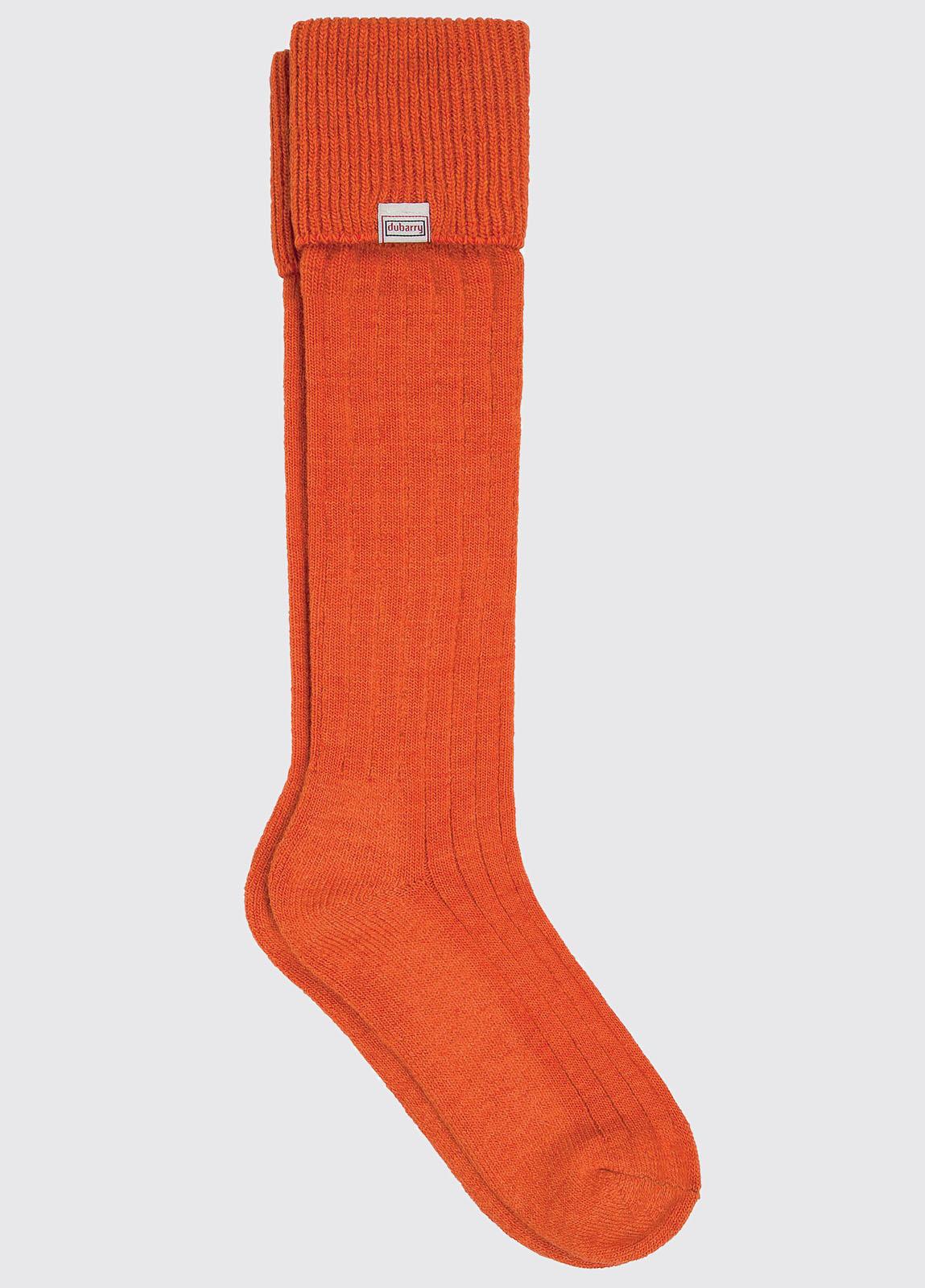 Alpaca Socks - Terracotta