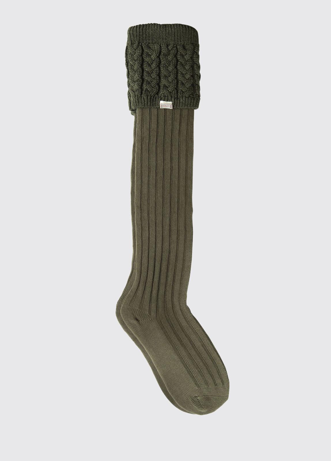 Trinity Socks - Olive