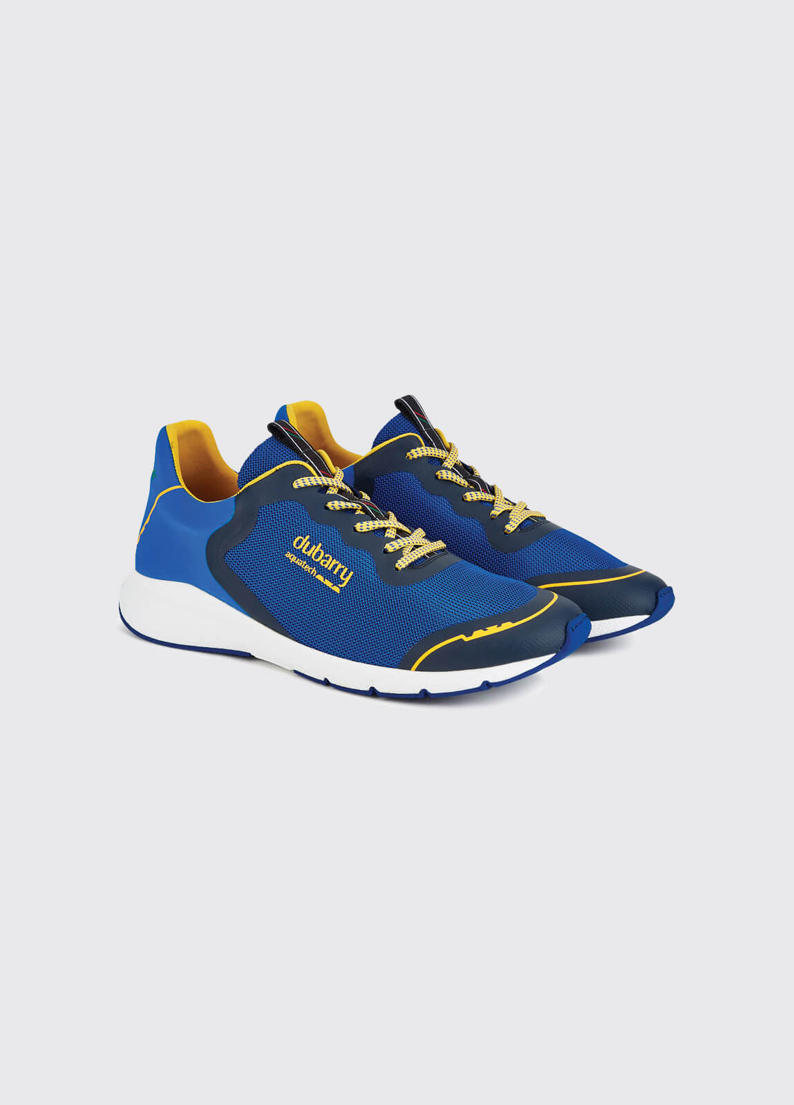 Palma Lightweight Laced Trainer - Kingfisher
