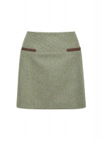 Clover Tweed Mini Skirt - Rowan