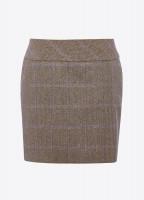 Bellflower Tweed Skirt - Woodrose