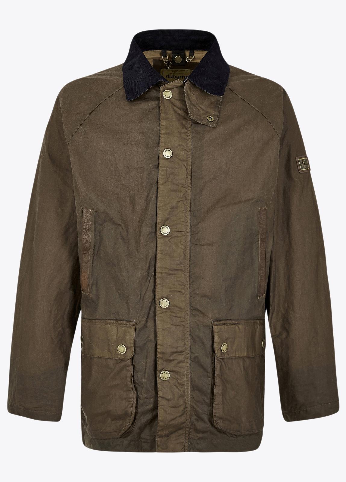 Mountbellew Wax Jacket - Ginger
