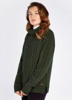 Kennedy Knitted Sweater- Olive