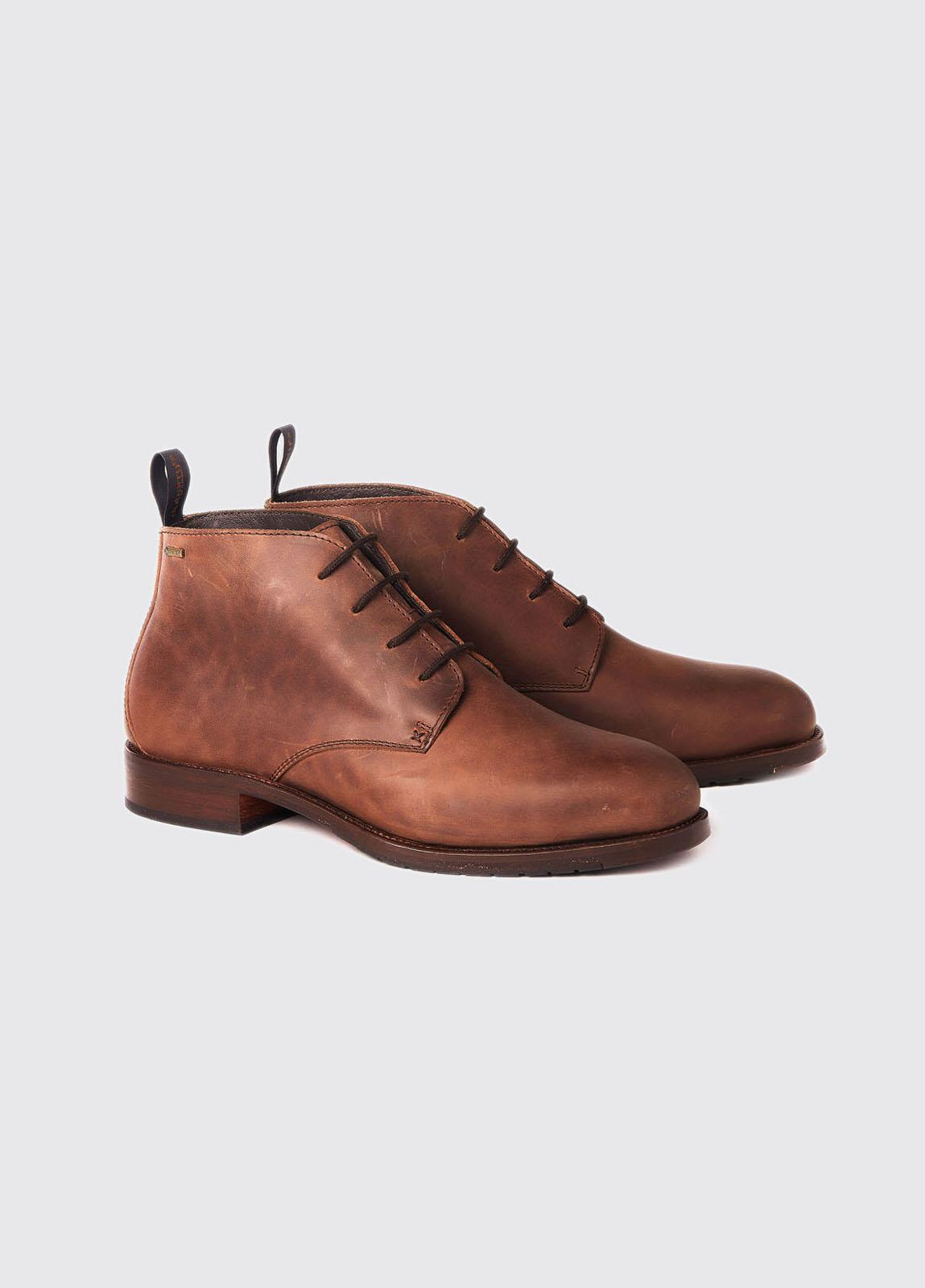 Kilgarvan Lace-up Boot - Bourbon